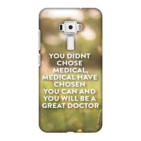 Doctors Quote 2 Slim Hard Shell Case For Asus Zenfone 3 ZE520KL