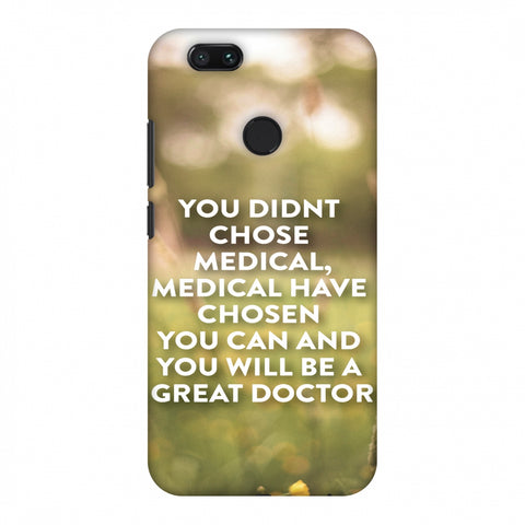 Doctors Quote 2 Slim Hard Shell Case For Xiaomi MI A1-5X
