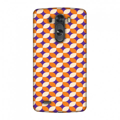 Geometric Flowers 2 Slim Hard Shell Case For LG G4