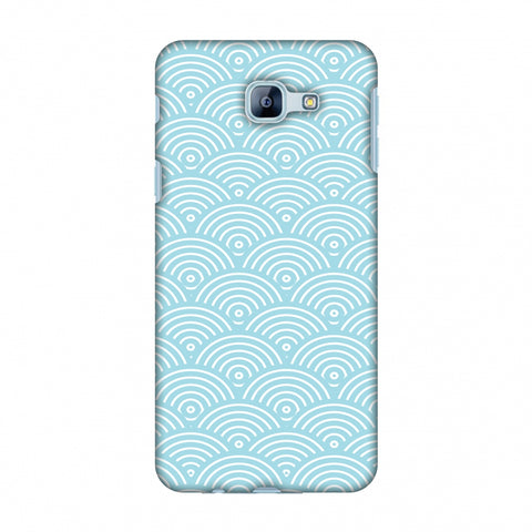 Overlapped Circles Slim Hard Shell Case For Samsung Galaxy A8 2016