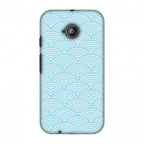 Overlapped Circles Slim Hard Shell Case For Motorola Moto E 2nd Gen