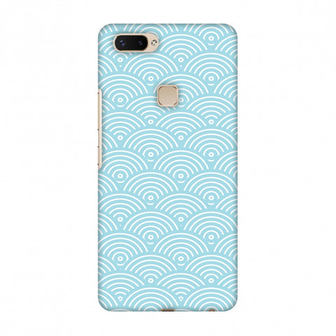 Overlapped Circles Slim Hard Shell Case For Vivo X20 Plus