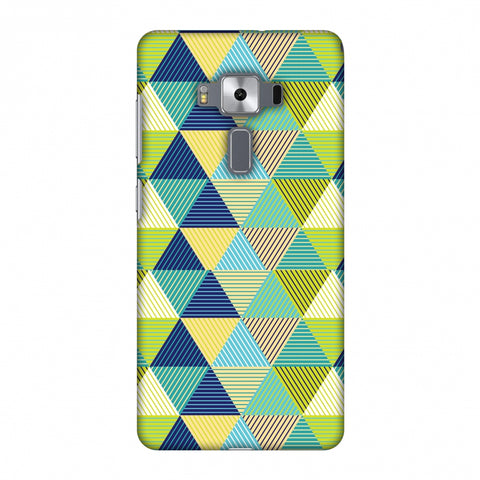 Triangles & Triangles Slim Hard Shell Case For Asus Zenfone 3 Deluxe ZS570KL