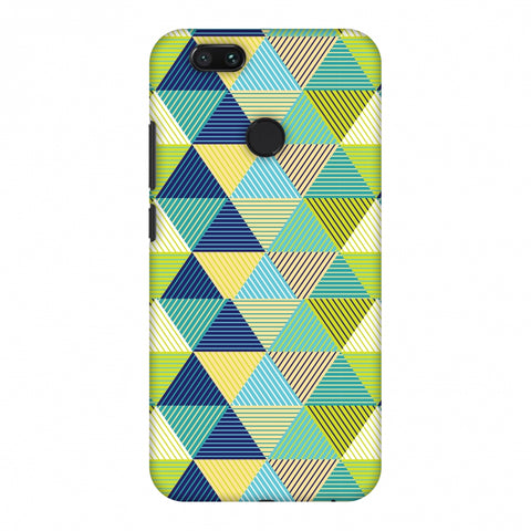 Triangles & Triangles Slim Hard Shell Case For Xiaomi MI A1-5X