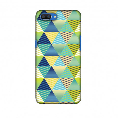 Triangles & Triangles Slim Hard Shell Case For Oppo Realme C1