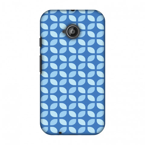 Geometric Flowers 3 Slim Hard Shell Case For Motorola Moto E 2nd Gen