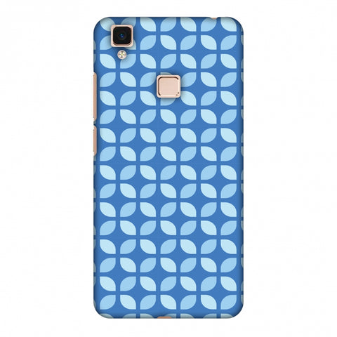 Geometric Flowers 3 Slim Hard Shell Case For Vivo V3 Max