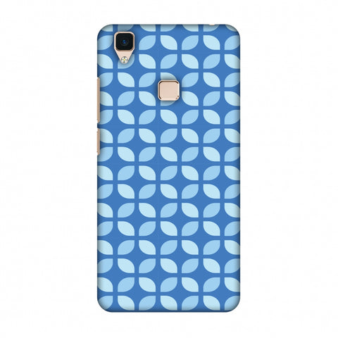 Geometric Flowers 3 Slim Hard Shell Case For Vivo V3