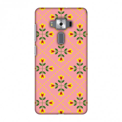 Pretty Flowers 1 Slim Hard Shell Case For Asus Zenfone 3 Deluxe ZS570KL