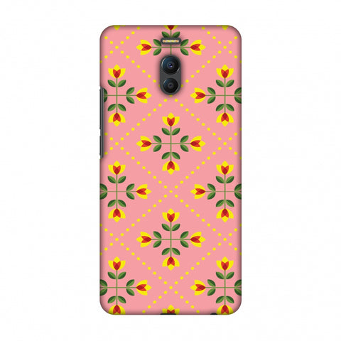 Pretty Flowers 1 Slim Hard Shell Case For Meizu Note 6