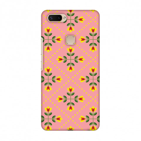 Pretty Flowers 1 Slim Hard Shell Case For Vivo X20 Plus