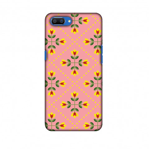 Pretty Flowers 1 Slim Hard Shell Case For Oppo Realme C1