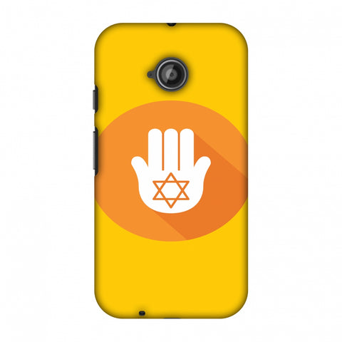 Hanukkah 3 Slim Hard Shell Case For Motorola Moto E 2nd Gen