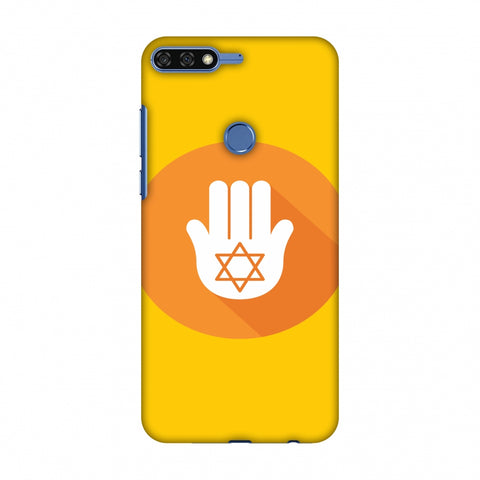 Hanukkah 3 Slim Hard Shell Case For Huawei Honor 7C