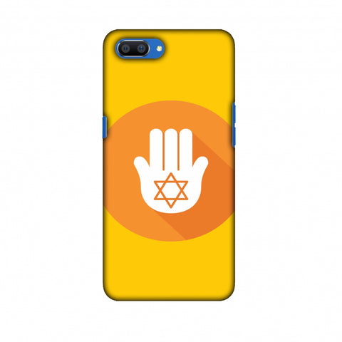 Hanukkah 3 Slim Hard Shell Case For Oppo Realme C1