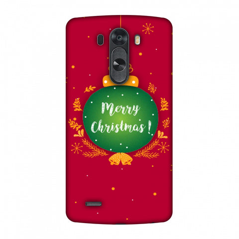 Christmas Slim Hard Shell Case For LG G4