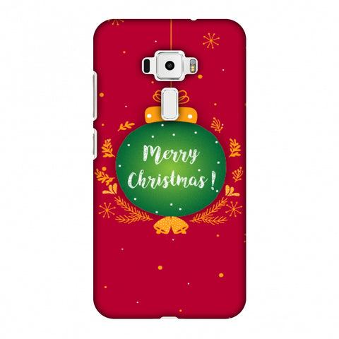 Christmas Slim Hard Shell Case For Asus Zenfone 3 ZE520KL
