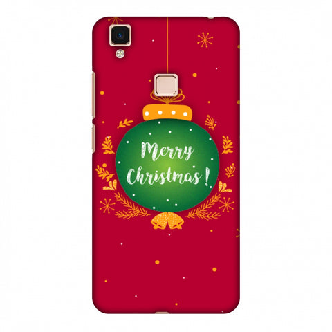 Christmas Slim Hard Shell Case For Vivo V3 Max