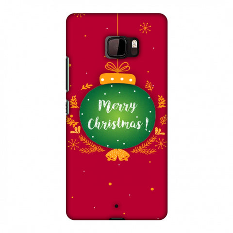 Christmas Slim Hard Shell Case For HTC U Ultra