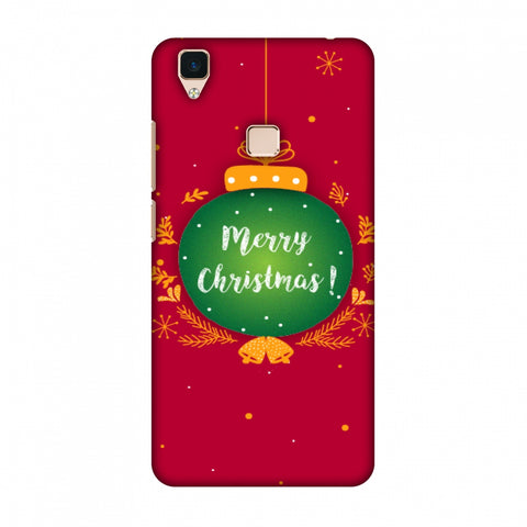 Christmas Slim Hard Shell Case For Vivo V3