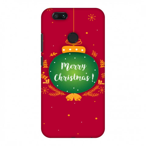 Christmas Slim Hard Shell Case For Xiaomi MI A1-5X