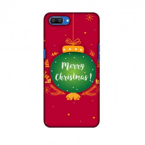 Christmas Slim Hard Shell Case For Oppo Realme C1