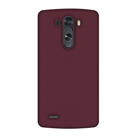 Tawny Port Slim Hard Shell Case For LG G4