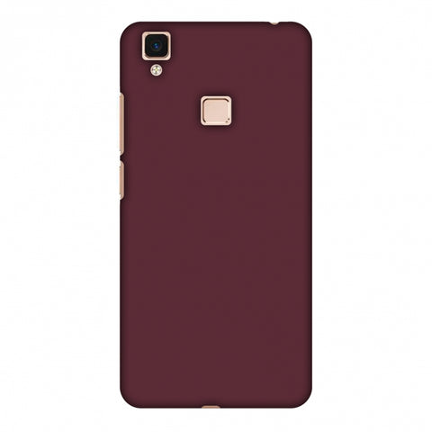 Tawny Port Slim Hard Shell Case For Vivo V3 Max