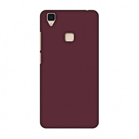 Tawny Port Slim Hard Shell Case For Vivo V3