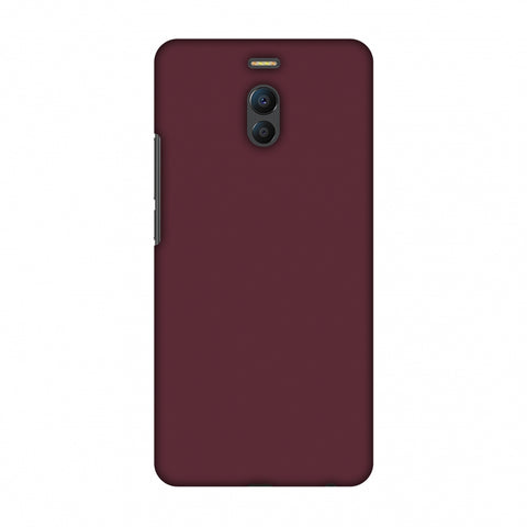Tawny Port Slim Hard Shell Case For Meizu Note 6