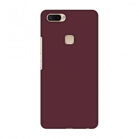 Tawny Port Slim Hard Shell Case For Vivo X20 Plus