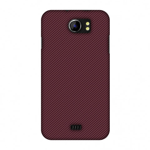 Tawny Port Texture Slim Hard Shell Case For Micromax Canvas 2 A110