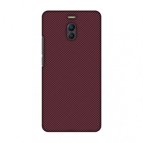 Tawny Port Texture Slim Hard Shell Case For Meizu Note 6