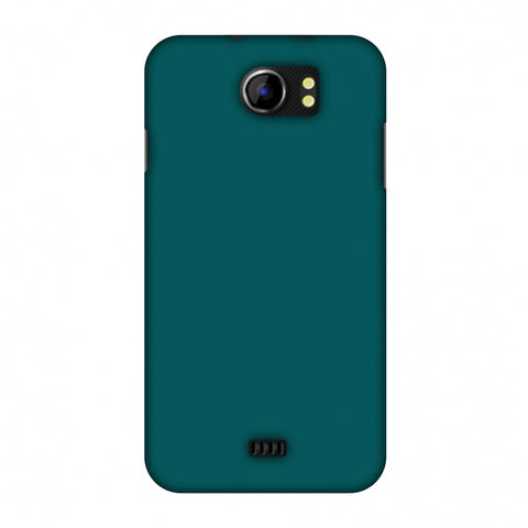 Shaded Spruce Slim Hard Shell Case For Micromax Canvas 2 A110