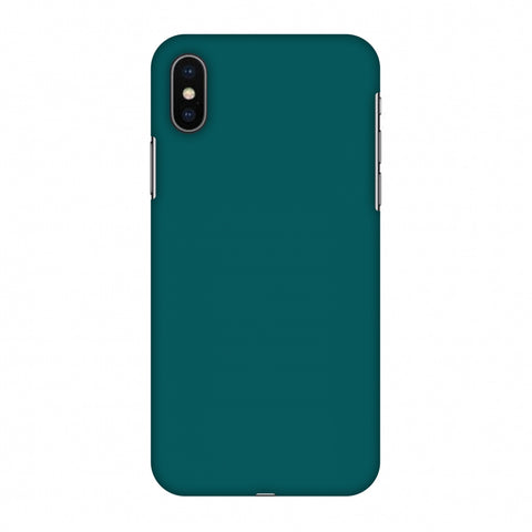 Shaded Spruce Slim Hard Shell Case For Apple iPhone X