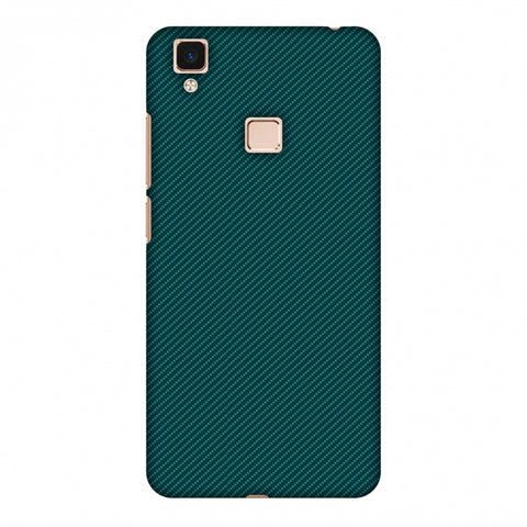 Shaded Spruce Texture Slim Hard Shell Case For Vivo V3 Max