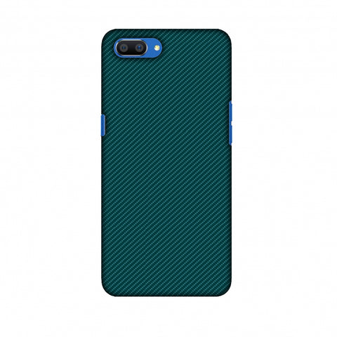 Shaded Spruce Texture Slim Hard Shell Case For Oppo Realme C1