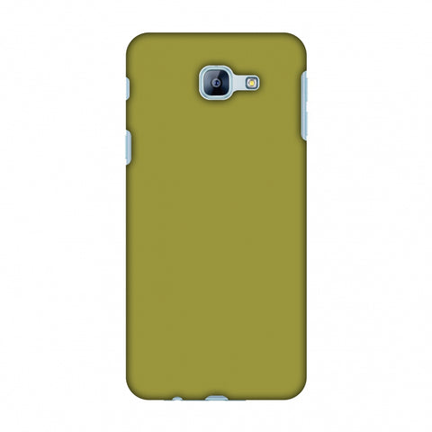 Golden Lime Slim Hard Shell Case For Samsung Galaxy A8 2016