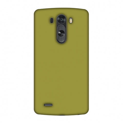 Golden Lime Slim Hard Shell Case For LG G4