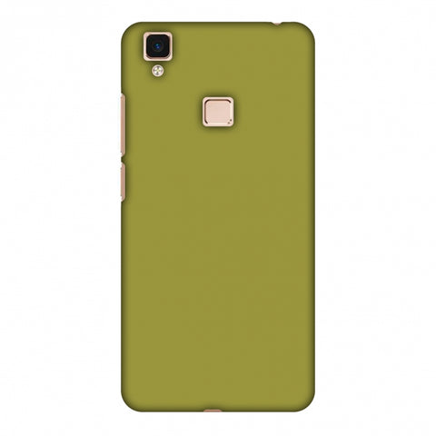Golden Lime Slim Hard Shell Case For Vivo V3 Max