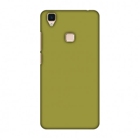 Golden Lime Slim Hard Shell Case For Vivo V3