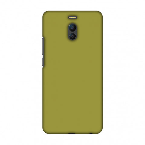 Golden Lime Slim Hard Shell Case For Meizu Note 6
