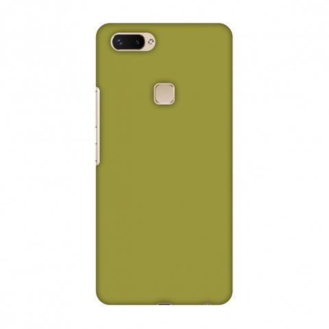 Golden Lime Slim Hard Shell Case For Vivo X20 Plus