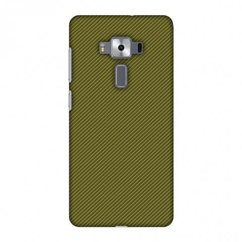 Golden Lime Texture Slim Hard Shell Case For Asus Zenfone 3 Deluxe ZS570KL