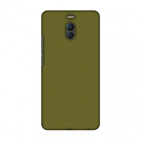 Golden Lime Texture Slim Hard Shell Case For Meizu Note 6