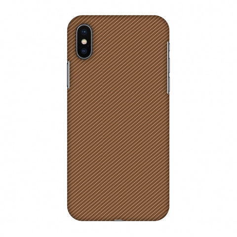 Butterum Texture Slim Hard Shell Case For Apple iPhone X