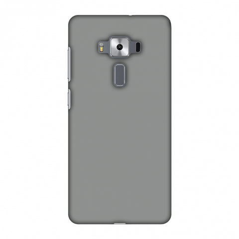 Neutral Grey Slim Hard Shell Case For Asus Zenfone 3 Deluxe ZS570KL