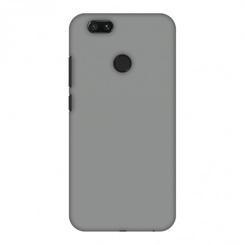 Neutral Grey Slim Hard Shell Case For Xiaomi MI A1-5X