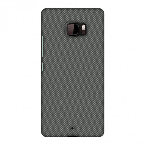 Neutral Grey Texture Slim Hard Shell Case For HTC U Ultra