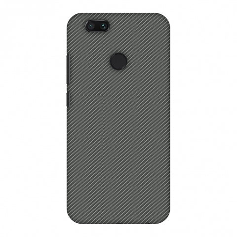 Neutral Grey Texture Slim Hard Shell Case For Xiaomi MI A1-5X